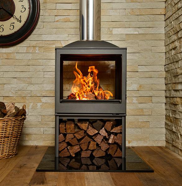 Wood Burning Fireplaces Nova Dbl Sided