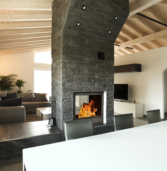 Wood Burning Fireplaces Strasburg Double Sided