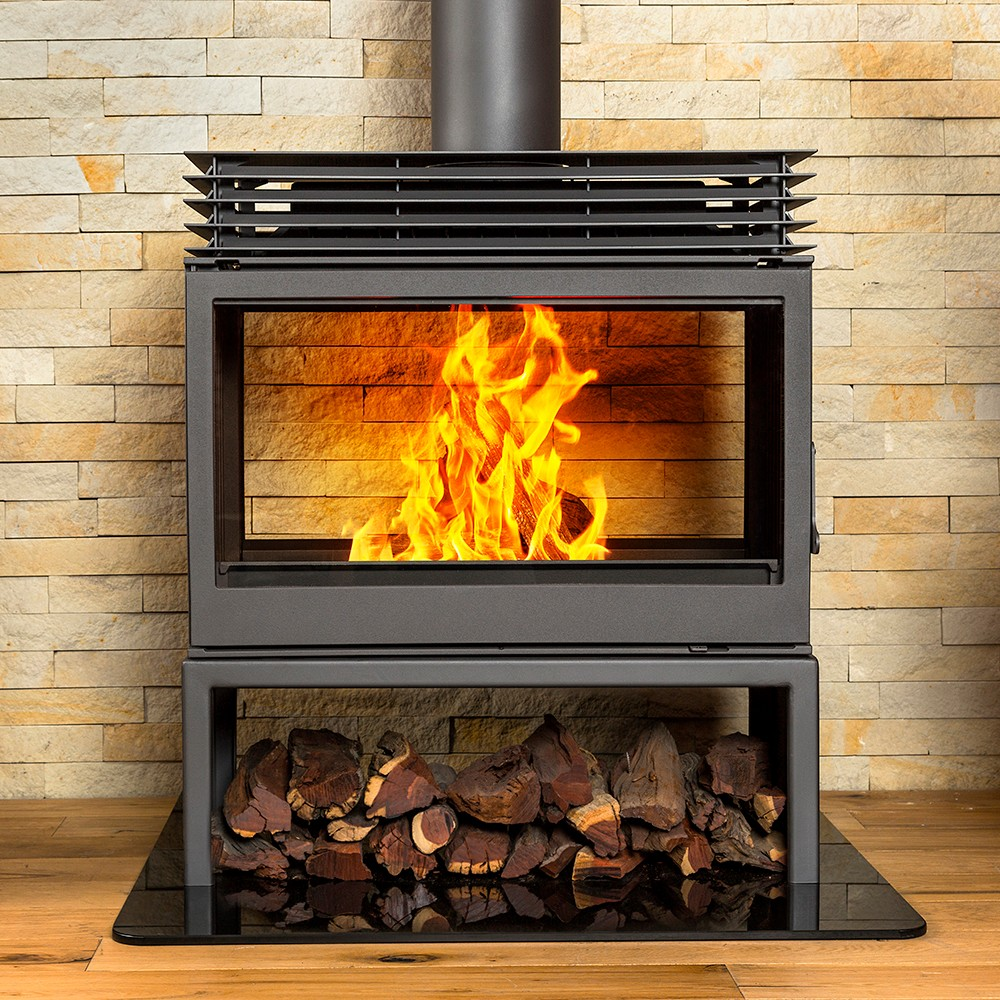 Wood Burning Fireplaces Titan Fs Double Sided